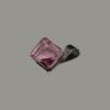 Saját készítésű ékszer Swarovski Swarovski kristályos kocka medál