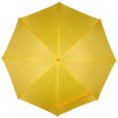 Automata ernyõ fa nyéllel, sárga (Automata esernyõ, egyenes fa fogantyúval és fém csúccsal sokféle)