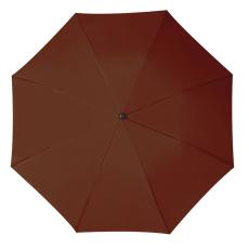 RAINBOW esernyõ, barna (RAINBOW kézi nyitású egyszeres teleszkópos összecsukható esernyõ, nylon)