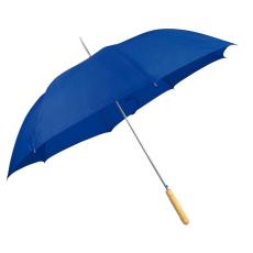 Automata ernyõ fa nyéllel, kék (Automata esernyõ, egyenes fa fogantyúval és fém csúccsal sokféle)