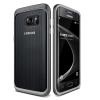 VERUS Samsung Galaxy S7 edge Triple Mixx hátlap, tok, acél ezüst