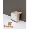 TODI TODI Teddy – pelenkázó toldalék 3 fiókos komódhoz (80*70-es)