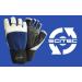 Scitec Nutrition Kesztyű Power Blue with wrist wrap férfi sötétkék S Scitec Nutrition
