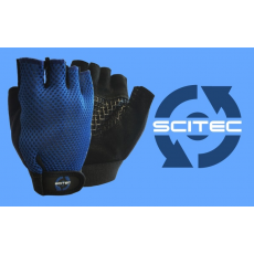 Scitec Nutrition Kesztyű Basic Blue férfi kék M Scitec Nutrition