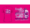 Scitec Nutrition T-Shirt Girl Feel the Power Baby női pink póló M Scitec Nutrition női póló