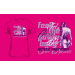 Scitec Nutrition T-Shirt Girl Feel the Power Baby női pink póló M Scitec Nutrition