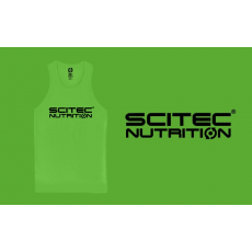 Scitec Nutrition Trikó Normal férfi zöld XL Scitec Nutrition