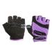 Meteor Kesztyű Meteor Fitness Gloves Grip Lady fioletowe