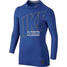 Nike Póló termolépés▶ywna Nike Hyperwarm Comp Jr 743419-480