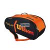 Wilson táskák tenisz Wilson Burn Molded Bag 9 Pack WRZ841509