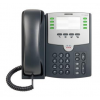 CISCO Small Business Pro SPA 501G IP-Phone without PSU IP Phone, 4 SIP Accounts, 8 Lines, 2 Ethernetports, PoE, Paper Label (no Display)