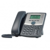 CISCO Small Business SPA 303-G2 IP Phone 3 Lines, 2 Ethernetports, no PoE, monochrome LCD