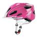 Uvex Kask rowerowy Uvex Quatro Junior rózsaszín
