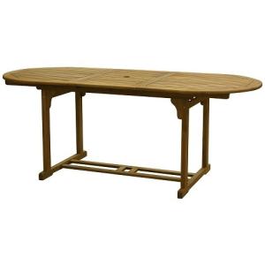 Fieldmann kihúzható kerti asztal 200/150x90cm