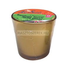 The Buzz utántöltő citronellás üveg mécses bambusz fáklyához riasztószer