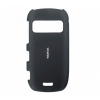 Nokia C7, Műanyag hátlap védőtok, fekete, gyári, CC-3008