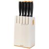 FISKARS Functional Form késblokk 5 késsel (fehér színben)
