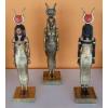 Egyiptomi istennő-HATHOR-33 cm/fa