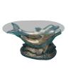 Asztal-Delfines-2 felfelé néző/arany