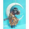 Borszorkány - holdon ülve, seprűvel
