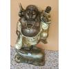 Buddha-kínai-Boldog-gyerekkel/bronz-arany