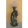 Asztali lámpa-Sárkány/60 cm/antik arany