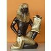 Fáraó-Tutanhamon papírusszal/25cm/sba