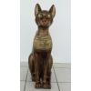 Macska-Básztet-71cm/bronz-arany