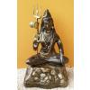 Hindu isten-Lord Shiva/bronz-arany