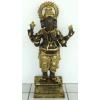 Hindu isten-Ganésa/71 cm/bronz-arany