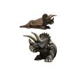 Dinoszaurusz - Triceratops - fekvő, ülőhellyel