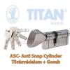Titan K5 ASC zárbetét 45x45 gombos