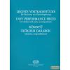 EMB Könnyű előadási darabok klarinétra zongorakísérettel