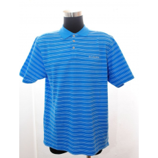 High-Lander Columbia Poloing Elm Creek Polo Stripe