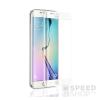 utángyártott Samsung G935 Galaxy S7 Edge tempered glass üvegfólia (teljes kijelzős-hajlított), fehér