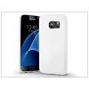 Samsung G930F Galaxy S7 szilikon hátlap - Jelly Bright 0,3 mm - fehér