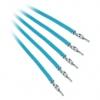 Bitfénix Bitfenix Alchemy 2.0 PSU kábel 5x40cm - világoskék