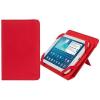 """RivaCase Univerzális táblagéptok, 7"""", állvány,  """"GATWICK 3202"""" piros"""