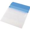 PANTA PLAST Irattartó tasak, A4, PP, 5 részes, , kék