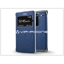 LG Zero H650 S-View Flexi oldalra nyíló flipes tok - kék tok és táska