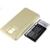 Powery Utángyártott akku Samsung GT-I9600 arany 5600mAh