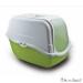 Macska WC Romeo zöld