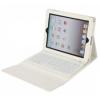 Apple iPad Pro 12.9, Bluetooth billentyűzetes mappa tok, fehér, BRANDO