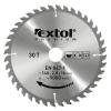 EXTOL PREMIUM EXTOL körfűrészlap, keményfémlapkás, 140×16mm(lyuk átm), T30; 2,8mm lapkaszélesség, max. 9000 ford/perc