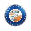 EXTOL PREMIUM EXTOL gyémántvágó TURBO Plus; 125mm, száraz és vizes vágáshoz, vágási mélység: 2,5 cm