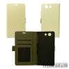 CELLECT Sony Xperia XA flip oldalra nyíló tok,fehér