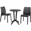 CURVER Bistro set antracit