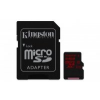 Kingston MicroSDXC 64GB UHS-I Class 3 U3 + adapter (SDCA3/64GB)