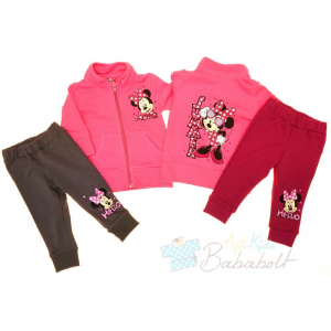 Disney Minnie baba, gyerek szabadidő együttes (méret:80-128)