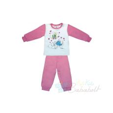 Hupikék Törpikék gyerek pizsama (méret: 92-128)